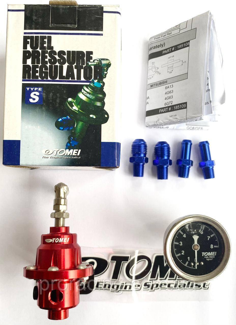 Регулятор давления топлива Tomei type S Красный