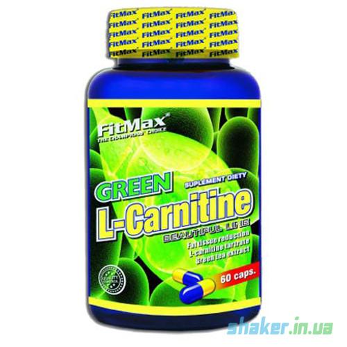 Л-карнитин FitMax Green L-Carnitine (60 капс) фитмакс