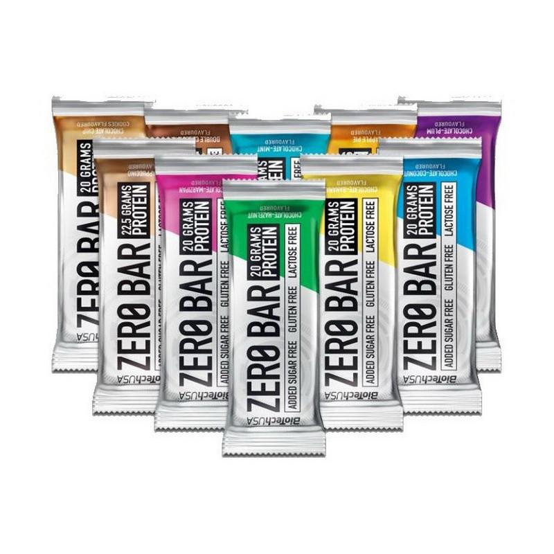 Протеиновый батончик BioTech Zero Bar (50 г) биотеч зеро бар double chocolate