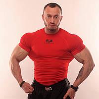 Компресс футболка SportFaza Red Размер S