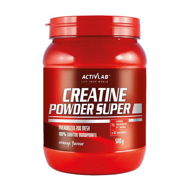 Креатин моногидрат Activlab Creatine Powder Super (500 г) активлаб павдер orange