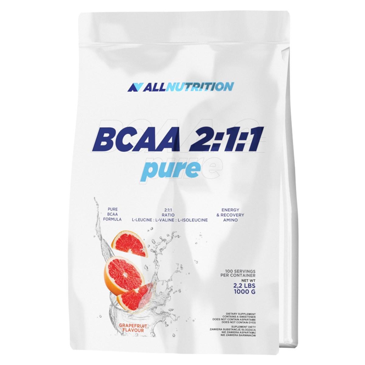 БЦАА AllNutrition BCAA 2:1:1 (1000 г) оллнутришн яблоко