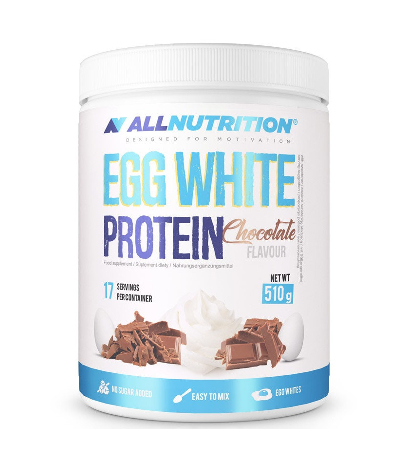 Яичный протеин AllNutrition EGG White Protein (510 г) олл нутришн Vanilla