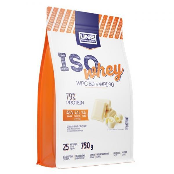 Сывороточный протеин изолят UNS Iso Whey (750 г) юнс Orange Cheesecake
