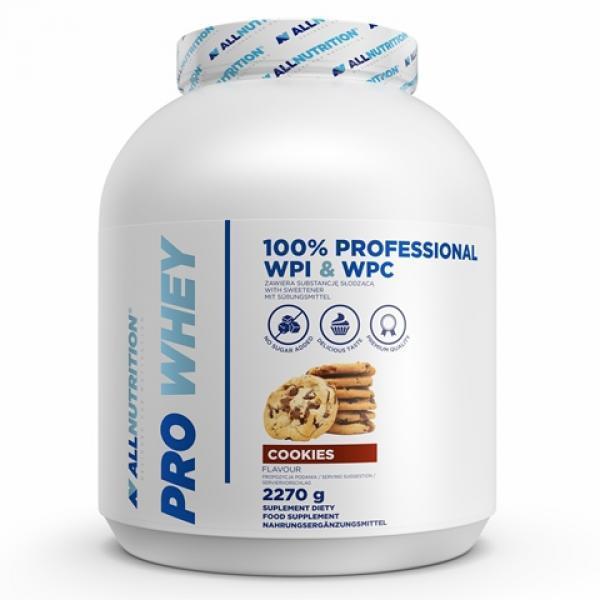 Сывороточный протеин концентрат AllNutrition Pro Whey (2,27 кг) алл нутришн Vanilla Ice Cream