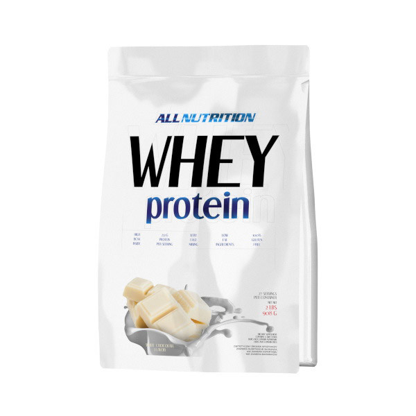 Сывороточный протеин концентрат All Nutrition Whey Protein (908 г) алл нутришн вей white chocolate