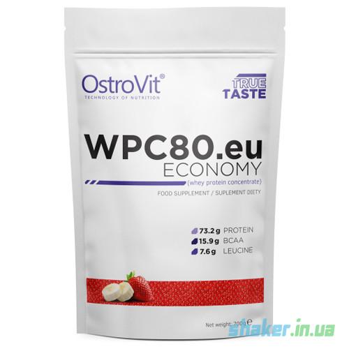 Сывороточный протеин концентрат OstroVit Economy WPC 80 (700 г) островит вей strawberry shake