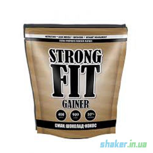 Гейнер для набора массы Strong FIT Gainer 10% (909 г) стронг фит шоколад-кокос