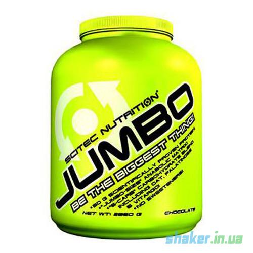 Гейнер для набора массы Scitec Nutrition Jumbo (2,86 кг) скайтек джамбо strawberry