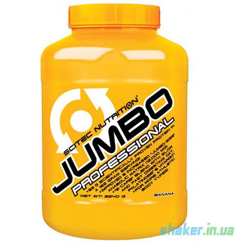 Гейнер для набора массы Scitec Nutrition Jumbo Professional (3,24 кг) скайтек джамбо banana