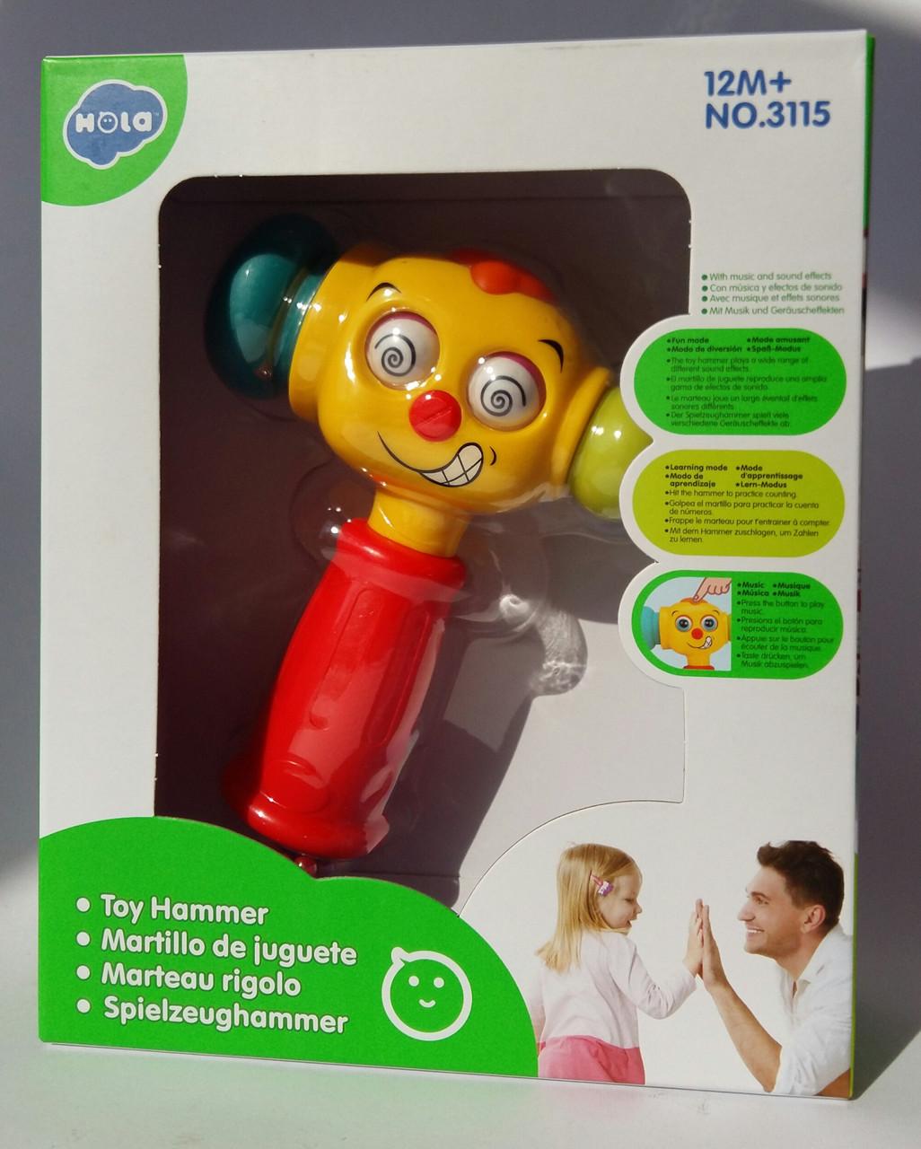 """Детская игрушка """"Веселый молоток"""" - Hola Toys 3115МТ"""