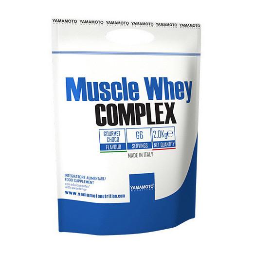Сывороточный протеин концентрат Yamamoto nutrition Muscle Whey Complex (2 кг) ямамото нутришн vanilla