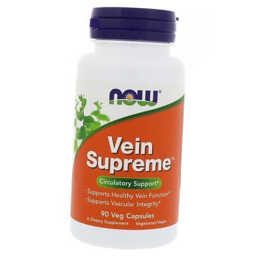 Витамины для вен Now Foods Vein Supreme (90 капс) нау фудс