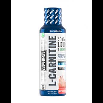 Л-карнитин Applied Nutrition L Carnitine 3000 (480 мл) апплид нутришн Sour apple