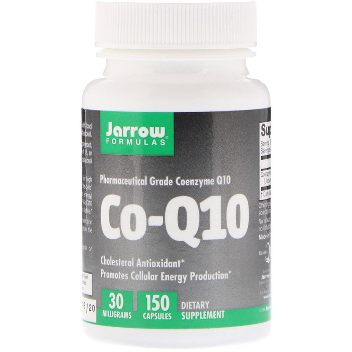 Коэнзим Q10, 30 мг, Co-Q10, Jarrow Formulas, 150 капсул,  джарроу формула