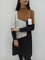 Стильное теплое платье женское Lara