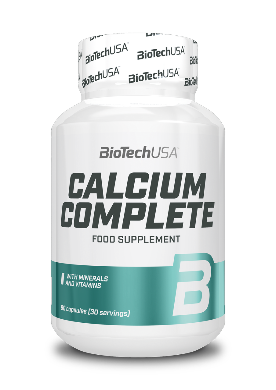 Кальций BioTech Natural Calcium Complete (90 капс) биотеч