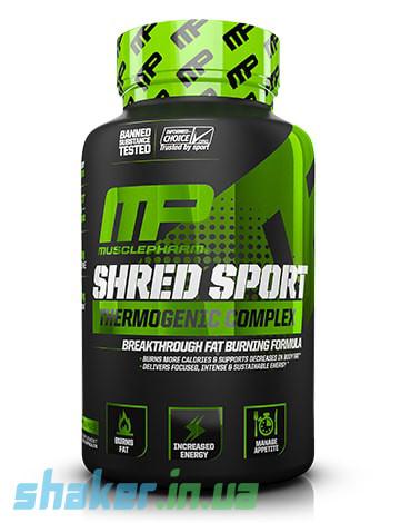 Жиросжигатель Muscle Pharm Shred Sport (60 капс) мускул фарм