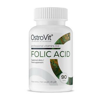 Фолієва кислота OstroVit Folic Acid (90 табл) острови