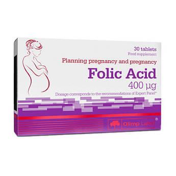 Фолієва кислота Olimp Folic Acid (30 табл) олімп