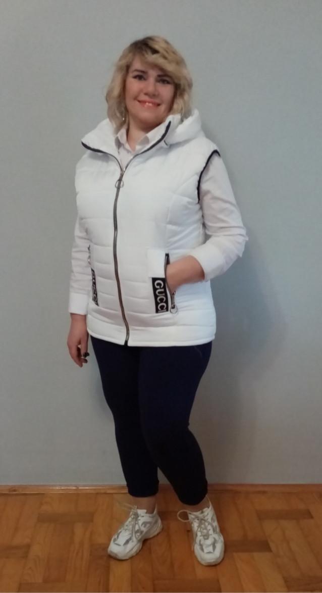 Суперская женская жилетка с 50 по 66 размеры