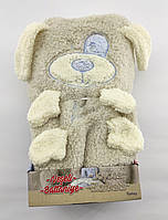 Детский плед одеяло Турция для новорожденного махра подарок новорожденному