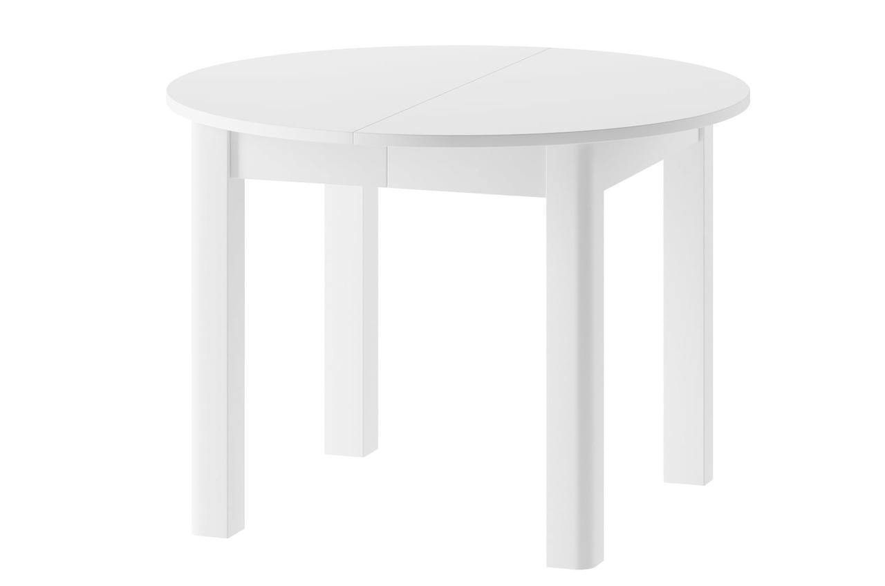 Стол обеденный деревянный INDUS Szynaka белый