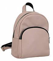 Женский кожаный рюкзак из натуральной кожи Lucherino 652 кожа ПУДРА (LRHN)