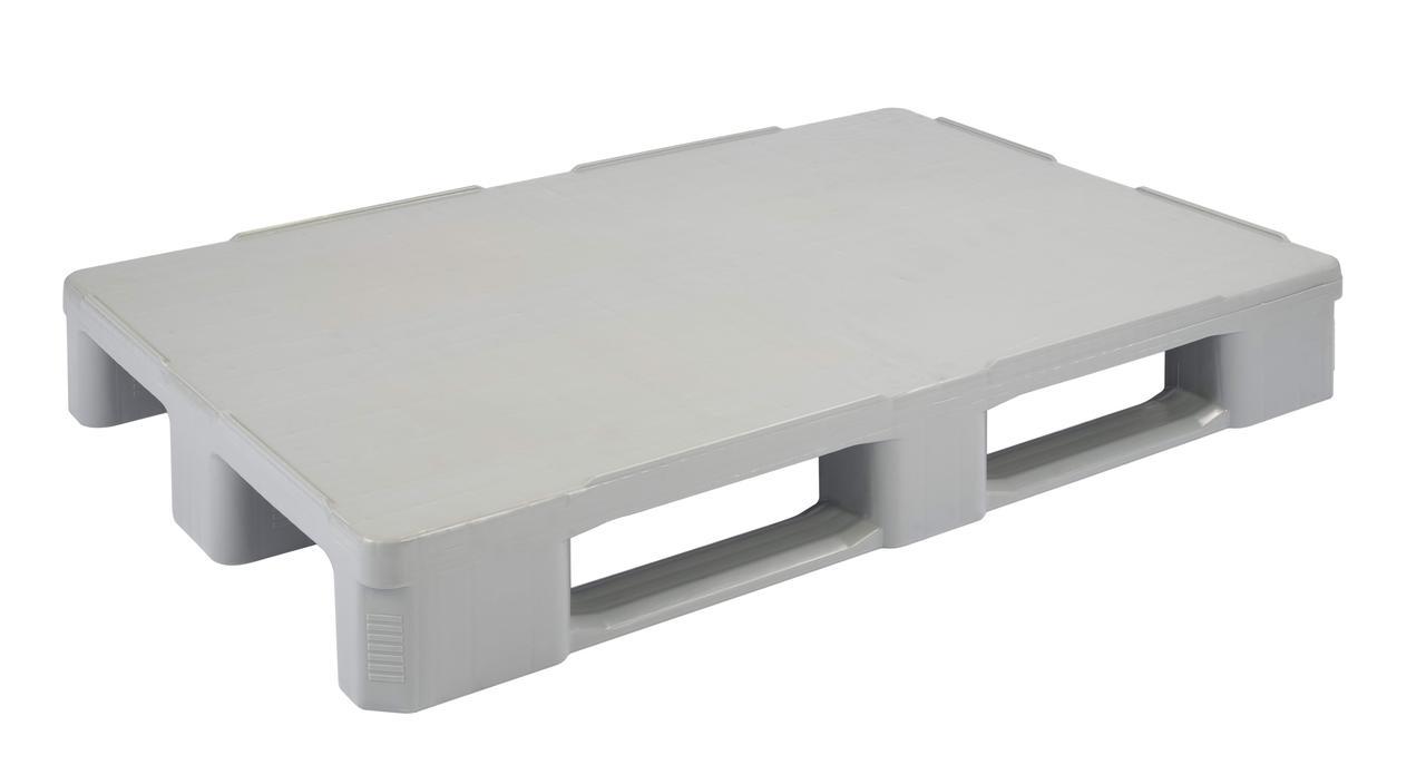 Паллета стеллажная гигиеническая HP1208/V2 на полозьях