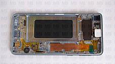 Дисплей с сенсором Samsung G973 Galaxy S10  White, GH82-18850B, оригинал!, фото 3