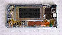 Дисплей с сенсором Samsung G973 Galaxy S10  White, GH82-18850B, оригинал!, фото 2