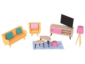 Набор мебели гостиная PLAYTIVE® для кукольного дома Германия