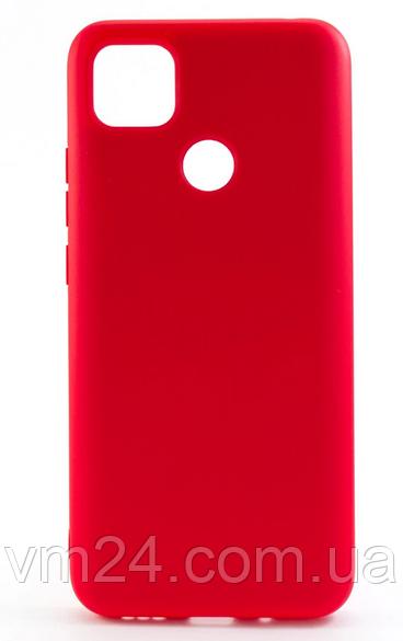 Чехол-накладка New Silicone Case для Xiaomi Redmi 9C кораловый