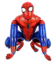 "ФОЛЬГОВАНІ КУЛІ ФІГУРА ""Людина Павук"". ДІАМЕТР: 65 СМ. 3-Д Китай"