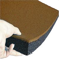 Гумова плитка 500х500х40 мм (помаранчева) PuzzleGym