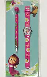 Часы детские наручные №MA-1949 Маша +ручка