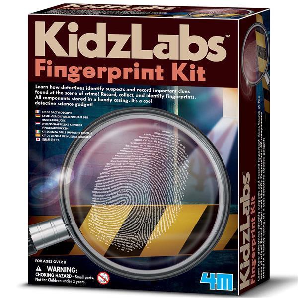 Набор детектива 4M Отпечатки пальцев (00-03248)