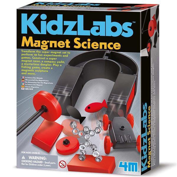 Набор для исследований 4M Опыты с магнитами (00-03291)