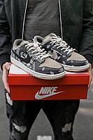 Кроссовки Мужские Найк Nike SB Dunk x Travis Scott