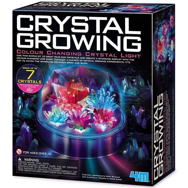 Набор для исследований 4M Цветные кристаллы (00-03920/US)