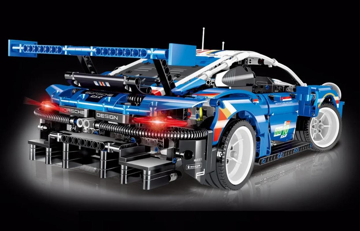 Конструктор Technology 0010, Porsche 911, масштаб 1:12, 1620 дет. порш