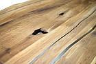 Стол -слэб из Береста залит эпоксидной смолой  2000х1000мм с комплектом ножек Х-метал в наличии, фото 4