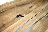 Стол -слэб из Береста залит эпоксидной смолой  2000х1100х36 С комплектом ножек Ёж-метал в наличии, фото 4