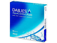 Контактные линзы Dailies AquaComfort Plus (Alcon) 90 шт