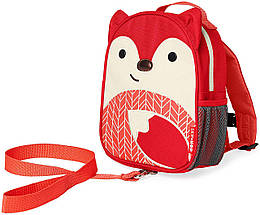Дитячий міні-рюкзак з повідцем Skip Hop Zoo let (mini backpack with rein) - Fox (Лисичка), 1-4 р.