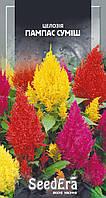 Семена цветов сухоцветов Целозия Пампас смесь,0.1 г,SeedEra, Однолетние цветы для сада, дачи, клумбы