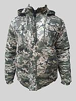 """Зимова камуфляжна куртка """"Піксель"""" світлий"""