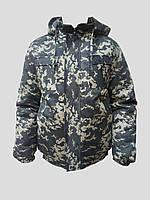 """Зимова камуфляжна куртка """"Піксель"""" зелений"""