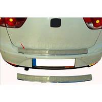 Seat Altea 2004↗ рр. Накладка на задній бампер OmsaLine (XL, нерж)