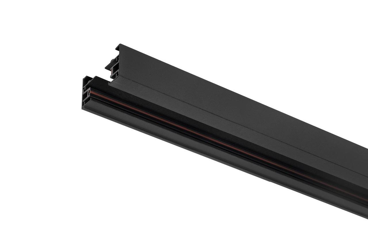 DELUX 2TR01  шинопровод  1-фазный черный 1м
